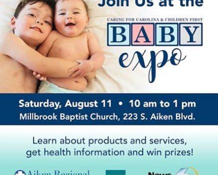 Visit us at Aiken's Baby Expo